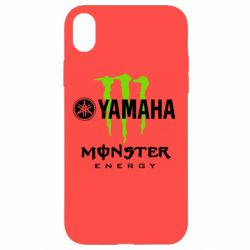 Чехол для iPhone XR Yamaha Monster Energy