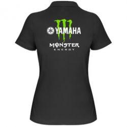 Женская футболка поло Yamaha Monster Energy - FatLine