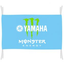 Флаг Yamaha Monster Energy