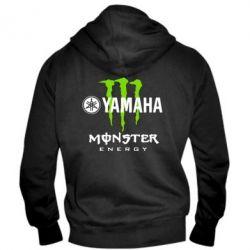 Мужская толстовка на молнии Yamaha Monster Energy - FatLine