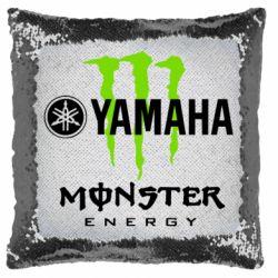 Подушка-хамелеон Yamaha Monster Energy