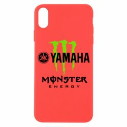 Чехол для iPhone X/Xs Yamaha Monster Energy
