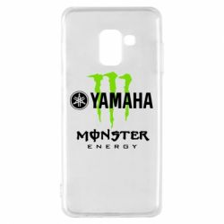 Чехол для Samsung A8 2018 Yamaha Monster Energy