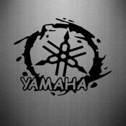 Наклейка Yamaha Moto - FatLine