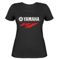 Женская футболка Yamaha R1 - FatLine