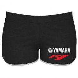 Женские шорты Yamaha R1 - FatLine