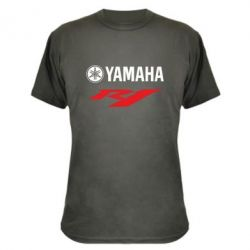 Камуфляжная футболка Yamaha R1 - FatLine