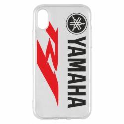 Чехол для iPhone X/Xs Yamaha R1
