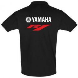 Футболка Поло Yamaha R1 - FatLine