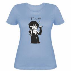 Женская футболка Yato smile