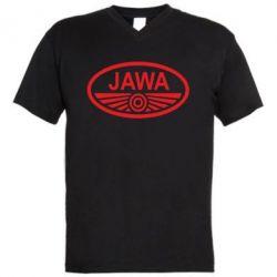 Чоловіча футболка з V-подібним вирізом Ява