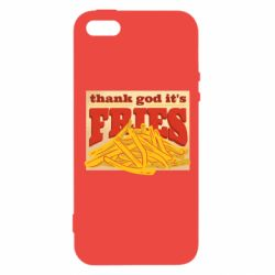 Чехол для iPhone5/5S/SE Yellow Potato Fries