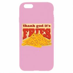 Чехол для iPhone 6/6S Yellow Potato Fries