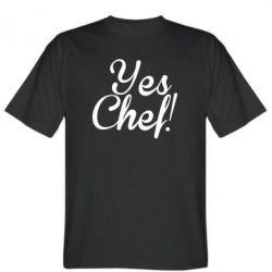Футболка Yes, Chef!