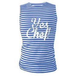 Майка-тельняшка Yes, Chef!
