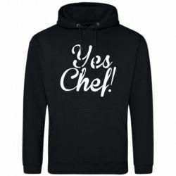 Мужская толстовка Yes, Chef!