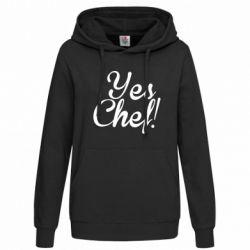 Женская толстовка Yes, Chef!