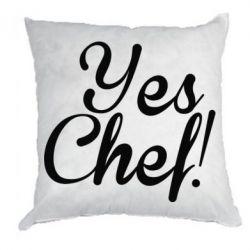 Подушка Yes, Chef!