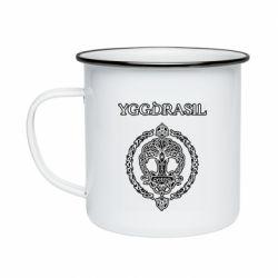 Кружка эмалированная Yggdrasil