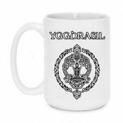 Кружка 420ml Yggdrasil