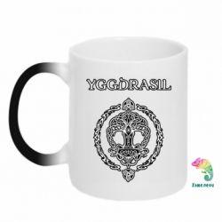 Кружка-хамелеон Yggdrasil