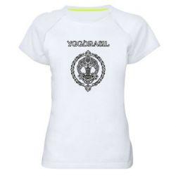 Женская спортивная футболка Yggdrasil