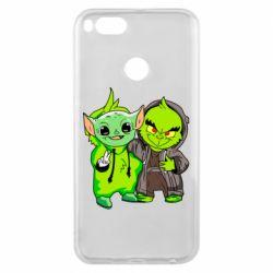 Чехол для Xiaomi Mi A1 Yoda and Grinch