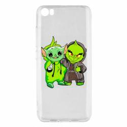 Чехол для Xiaomi Mi5/Mi5 Pro Yoda and Grinch