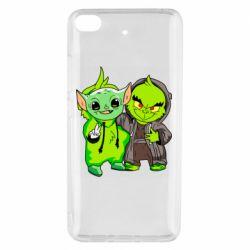 Чехол для Xiaomi Mi 5s Yoda and Grinch
