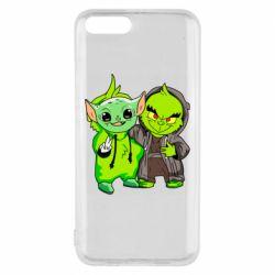 Чехол для Xiaomi Mi6 Yoda and Grinch