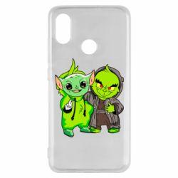 Чехол для Xiaomi Mi8 Yoda and Grinch