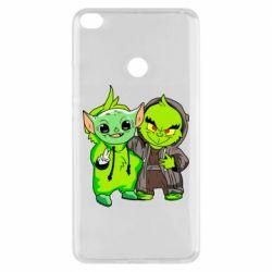 Чехол для Xiaomi Mi Max 2 Yoda and Grinch