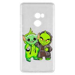 Чехол для Xiaomi Mi Mix 2 Yoda and Grinch