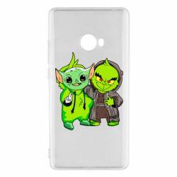 Чехол для Xiaomi Mi Note 2 Yoda and Grinch