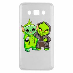 Чехол для Samsung J5 2016 Yoda and Grinch