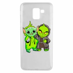 Чехол для Samsung J6 Yoda and Grinch