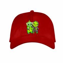 Детская кепка Yoda and Grinch