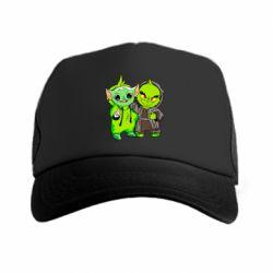 Кепка-тракер Yoda and Grinch