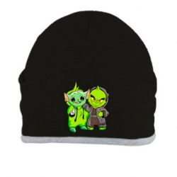 Шапка Yoda and Grinch
