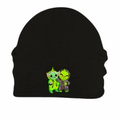 Шапка на флисе Yoda and Grinch