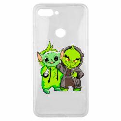 Чехол для Xiaomi Mi8 Lite Yoda and Grinch