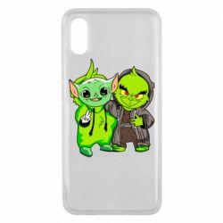Чехол для Xiaomi Mi8 Pro Yoda and Grinch