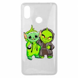 Чехол для Xiaomi Mi Max 3 Yoda and Grinch