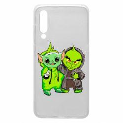 Чехол для Xiaomi Mi9 Yoda and Grinch