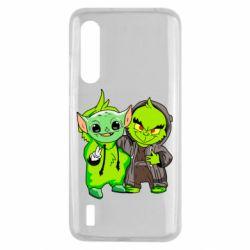 Чехол для Xiaomi Mi9 Lite Yoda and Grinch