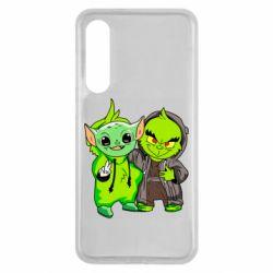 Чехол для Xiaomi Mi9 SE Yoda and Grinch