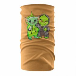 Бандана-труба Yoda and Grinch