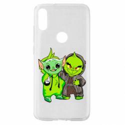 Чехол для Xiaomi Mi Play Yoda and Grinch