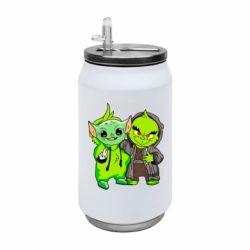 Термобанка 350ml Yoda and Grinch