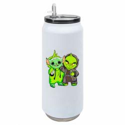 Термобанка 500ml Yoda and Grinch